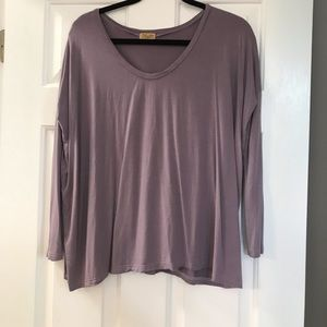 Piko 1988 purple long sleeve size Medium super sft